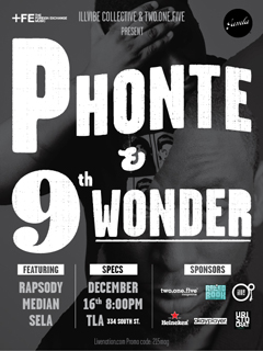 Phonte & 9th Wonder at TLA, Philadelphia PA | Dec 16, 2011